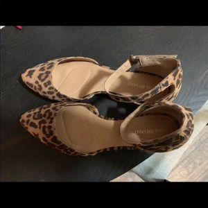 Size 9 Brand New Lane Bryant Ankle Strap Flats